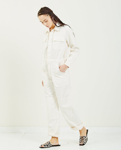 OVERLOVER Rose Twill Jumpsuit