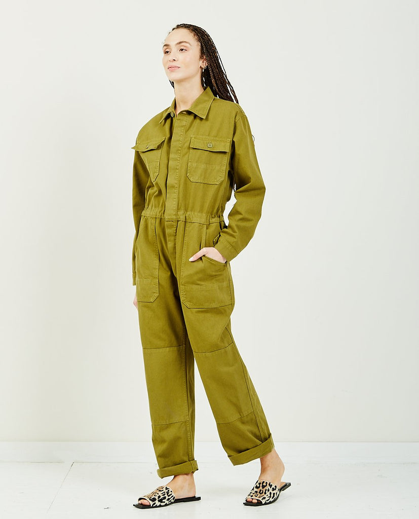 Rose Twill Jumpsuit-OVERLOVER-American Rag Cie