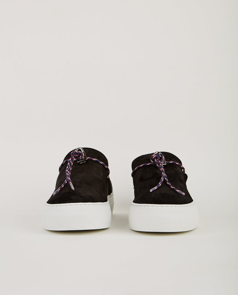 BUSCEMI-SABOT CAMPO BLACK-Men Sneakers + Trainers-{option1]
