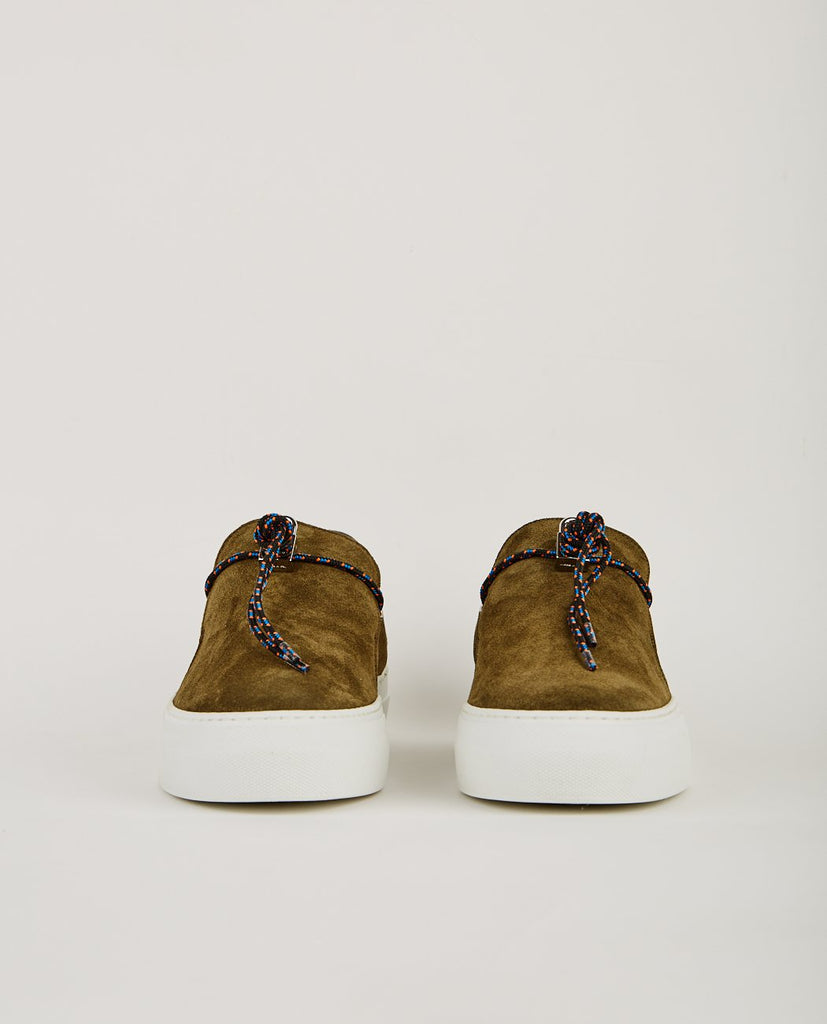 BUSCEMI-SABOT CAMPO MILITARE-Men Sneakers + Trainers-{option1]