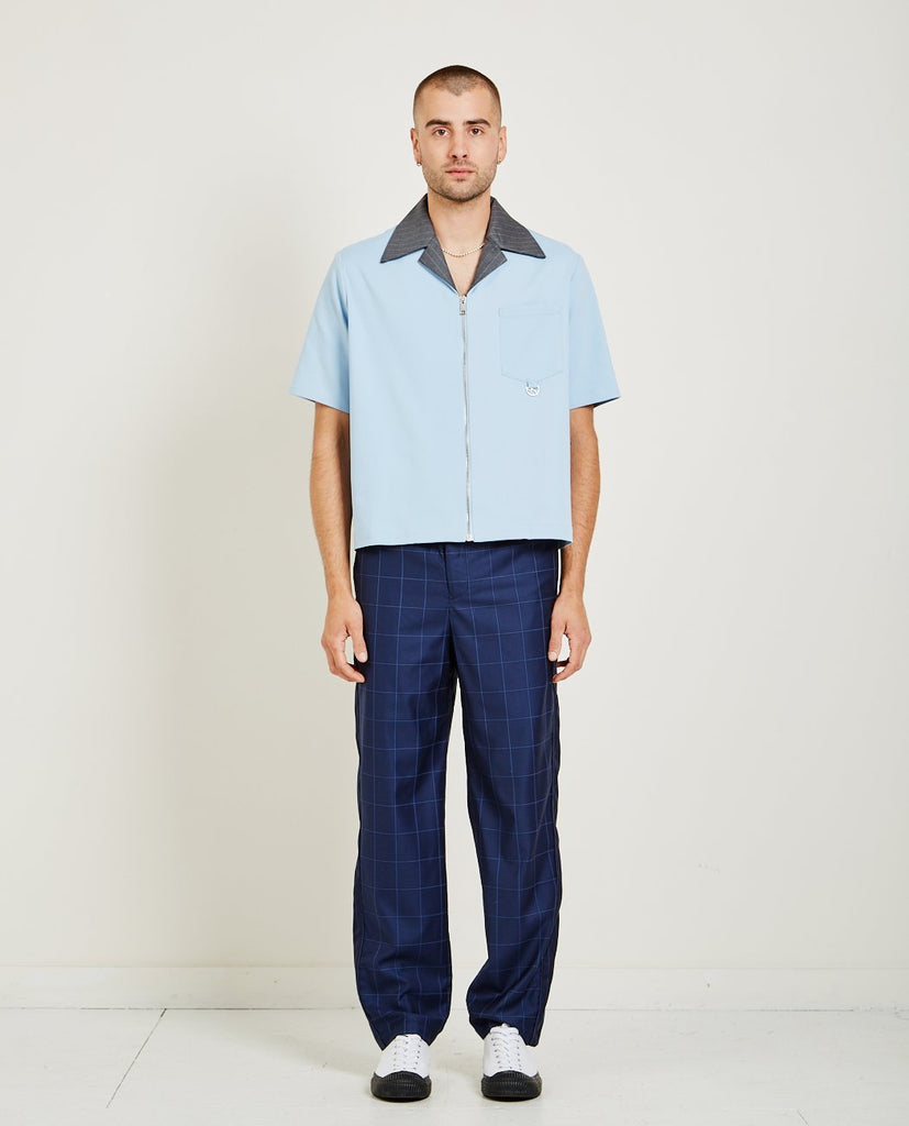 NE-SENSE-SAFFROM WORKER ZIP-Men Shirts-{option1]