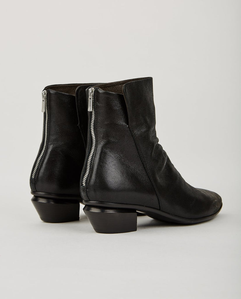SALOME ZIP BOOTIE BLACK-OFFICINE CREATIVE-American Rag Cie