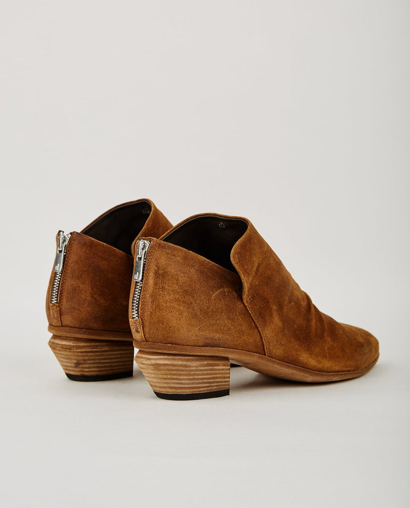 OFFICINE CREATIVE-SALOME ZIP BOOTIE WHISKEY BROWN-Women Boots-{option1]