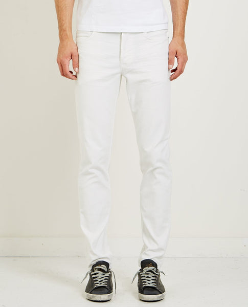 HUDSON SARTOR RELAXED SKINNY JEAN OFF WHITE