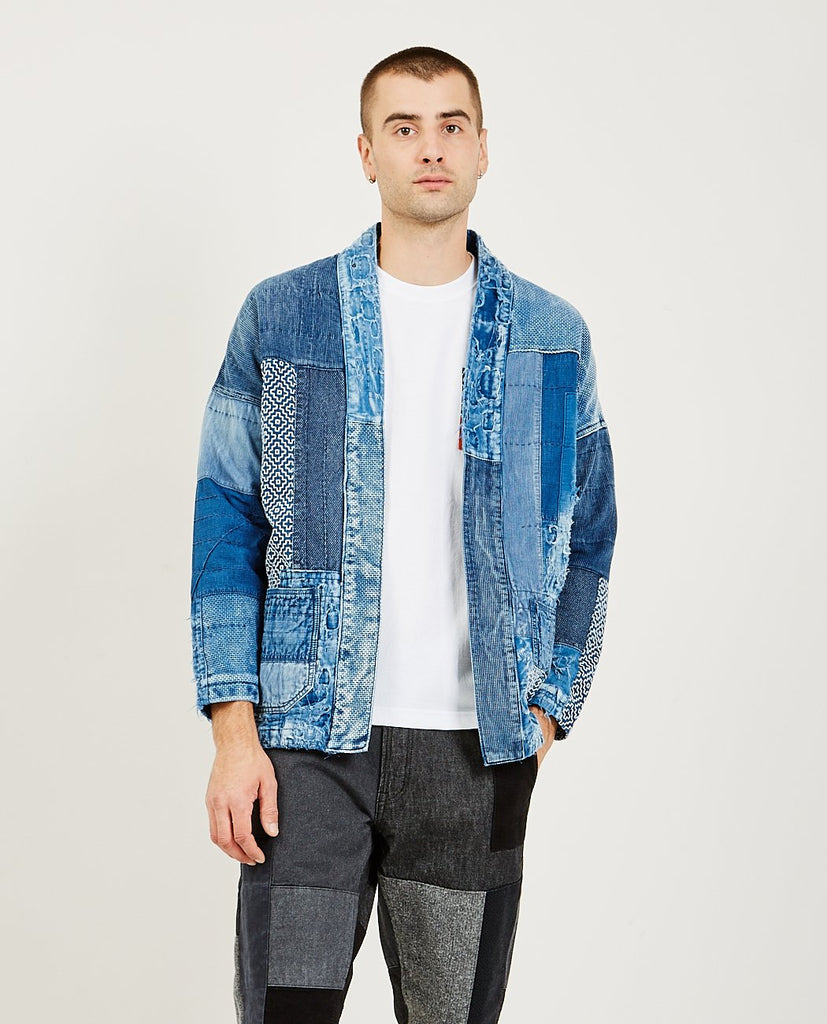 FDMTL Sashiko Haori Jacket 10 Year Wash