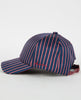 SATIN STRIPED DON LOGO CAP-DON PARIS-American Rag Cie