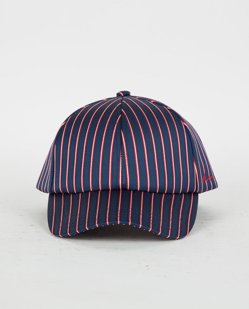 DON PARIS SATIN STRIPED DON LOGO CAP