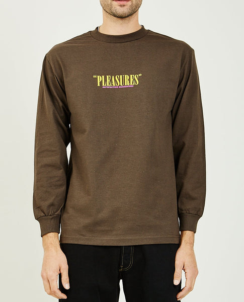PLEASURES SATISFACTION GUARANTEED LONG SLEEVE