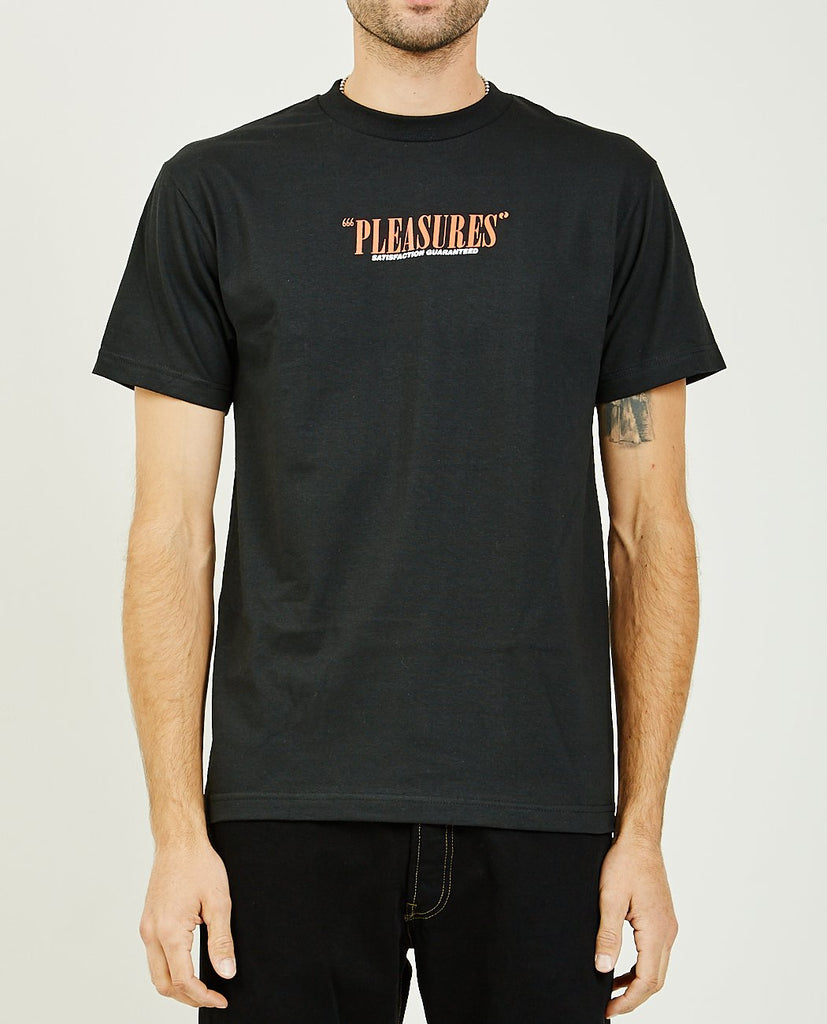SATISFACTION GUARANTEED TEE-PLEASURES-American Rag Cie