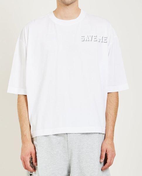 WILLY CHAVARRIA SAVE ME CREWNECK BUFFALO TEE