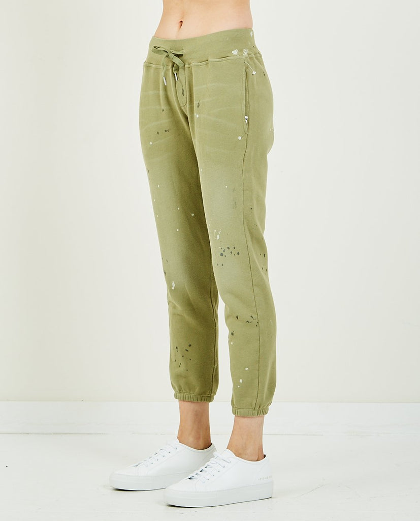 NSF-SAYDE SLOUCHY SWEATPANT OLIVE-Women Pants-{option1]