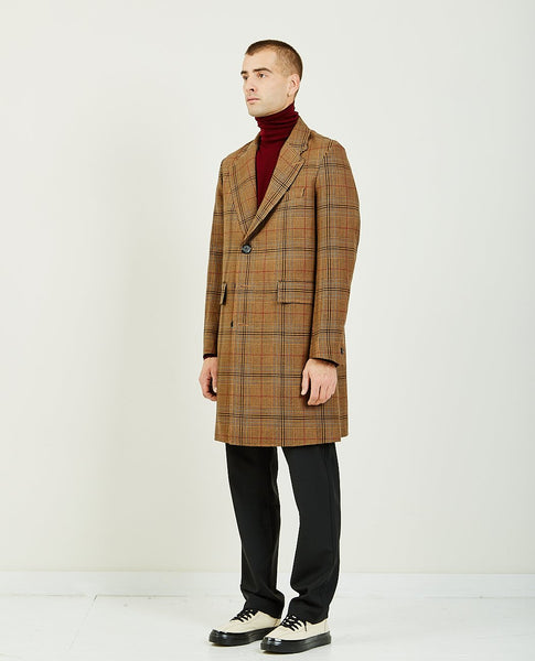 BAND OF OUTSIDERS SB LONG WOOL COAT