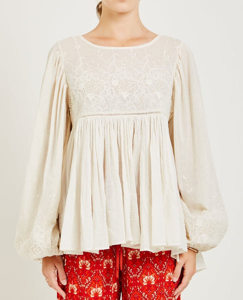 SPELL & THE GYPSY SCORPIO CLOTH BLOUSE