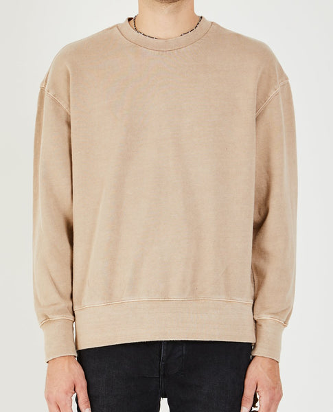 KSUBI SEEING LINES SWEATSHIRT MUSHROOMED