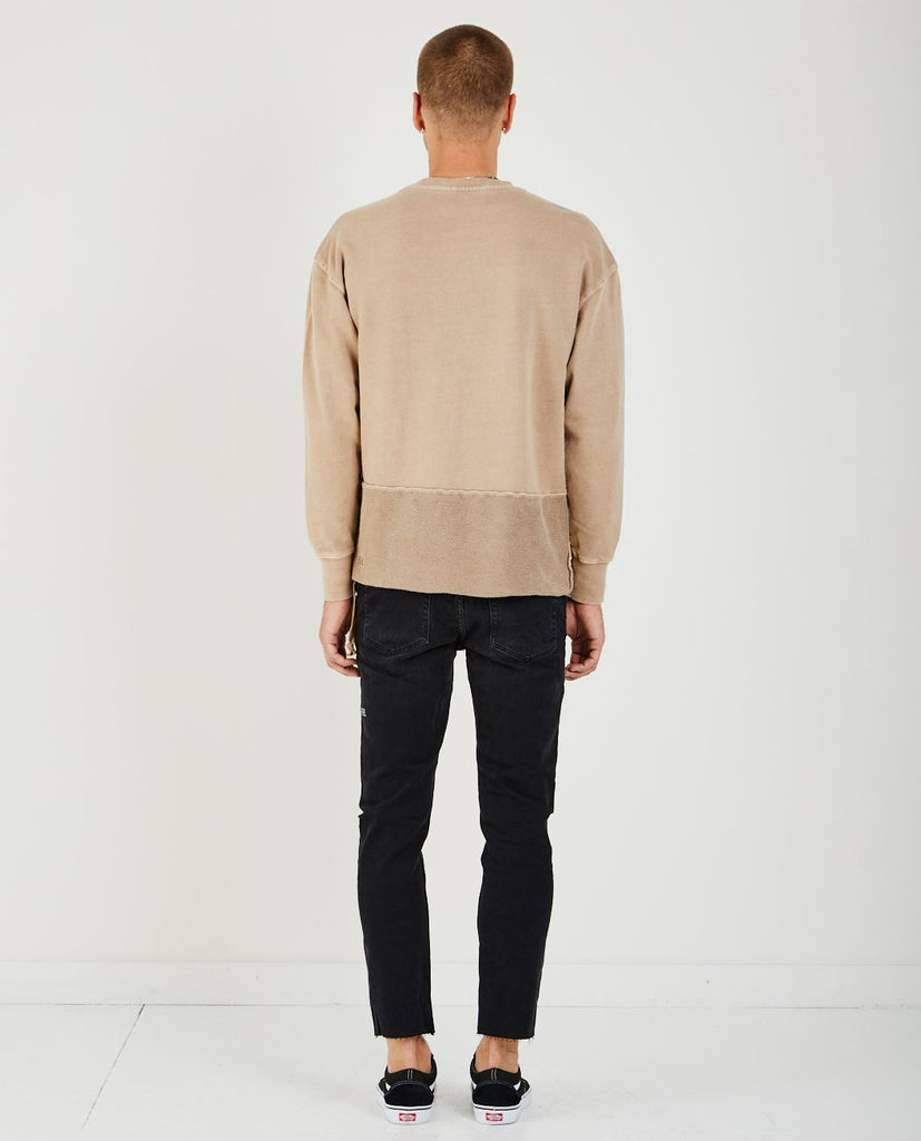 SEEING LINES SWEATSHIRT MUSHROOMED-KSUBI-American Rag Cie