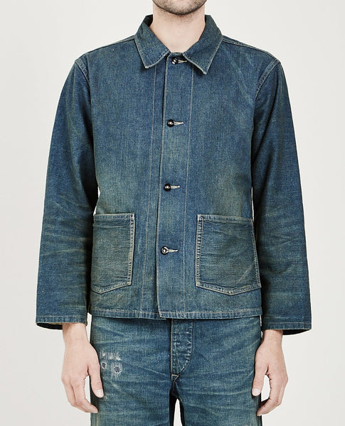 RRL SELVEDGE DENIM WORK JACKET SWEETSPRINGS
