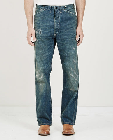 RRL COTTON SATEEN PANT OFF WHITE