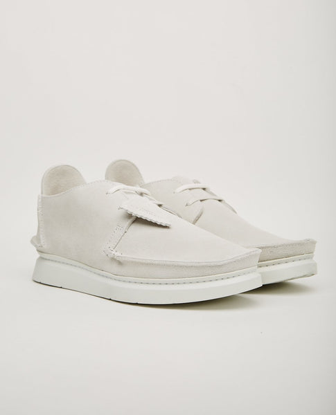 CLARKS ORIGINALS SEVEN WHITE