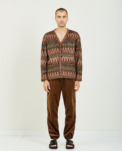 EDITIONS M.R. JEAN FRANCOIS JOGGING PANTS TOBACCO