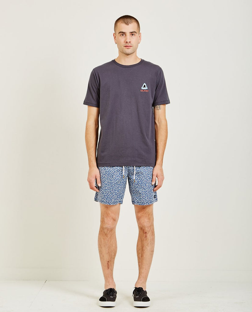 SHARK EMBROIDERED TEE-BARNEY COOLS-American Rag Cie