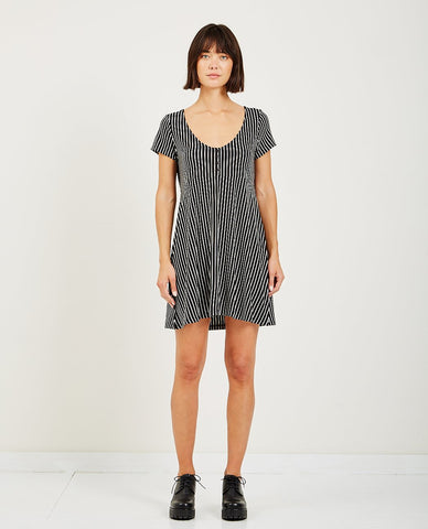 ALEX MILL STRIPED POPOVER TUNIC