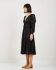 SHEILA DRESS NOIR-ULLA JOHNSON-American Rag Cie