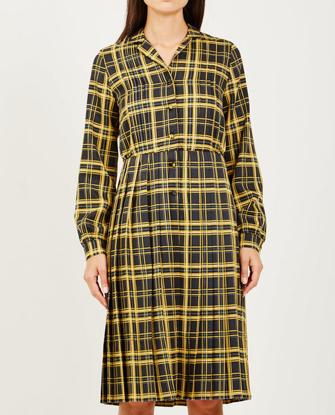 NEUL SHIRTWAIST PLEATED DRESS