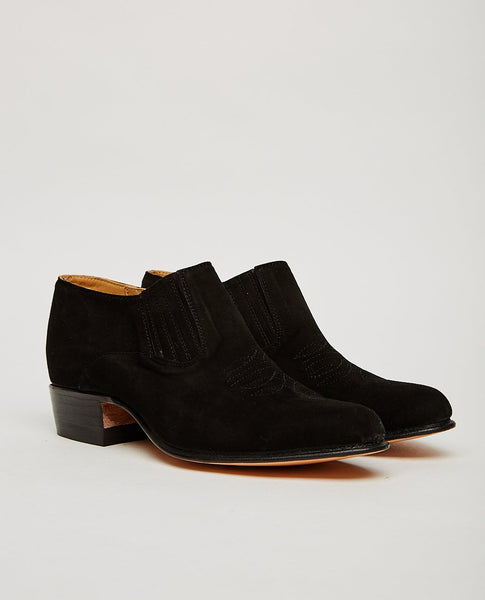 CHAMULA Short Boot Negro