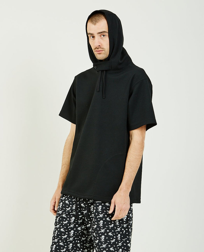 Short Sleeve Hoodie-ENGINEERED GARMENTS-American Rag Cie