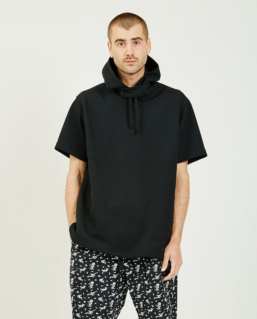 ENGINEERED GARMENTS-Short Sleeve Hoodie-SUMMER20 Men Sweaters + Sweatshirts-{option1]