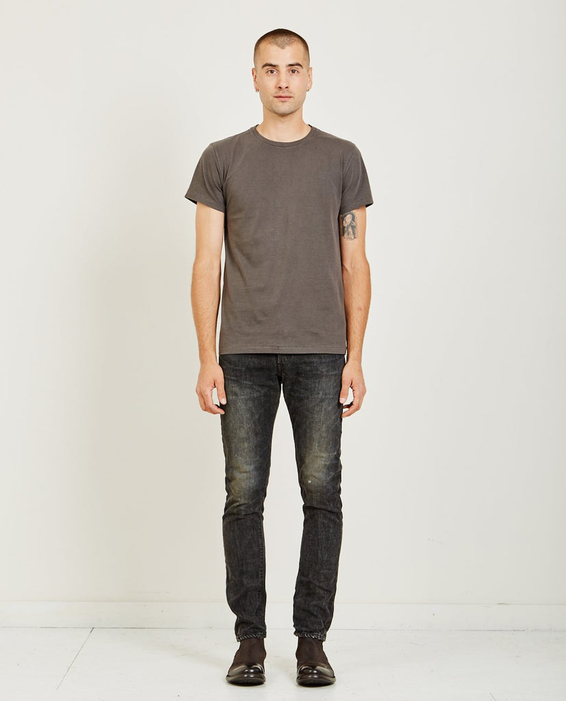 SHORT SLEEVE TUBE TEE BLACK MASK-RRL-American Rag Cie