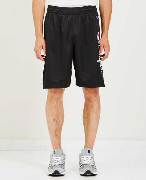 CHAMPION SHORTS W/LOGO PATCH