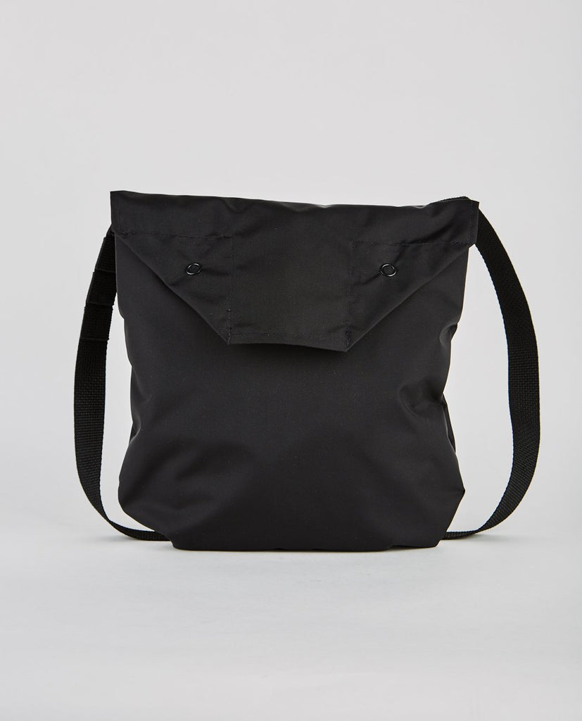 SHOULDER POUCH PACK CLOTH BLACK-ENGINEERED GARMENTS-American Rag Cie