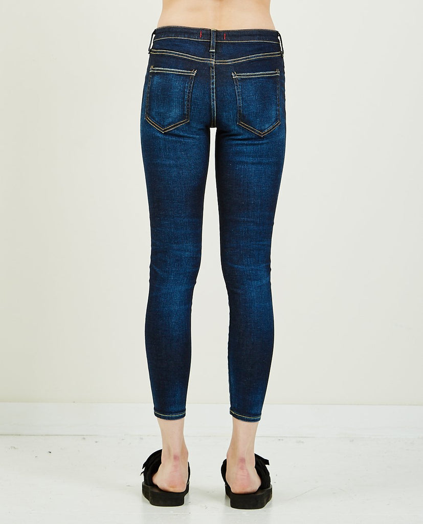 RED CARD-Sideway Akira Dark Used-Women Skinny-{option1]