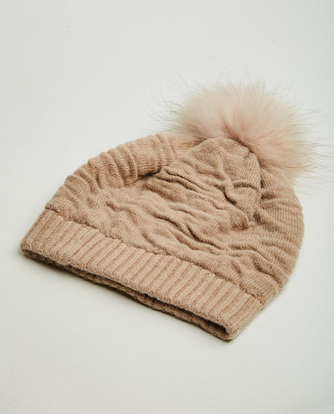 NATURES COLLECTION SIDSE WOOL BEANIE