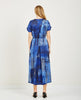 SILK COTTON TIE DYE POET DRESS-RAQUEL ALLEGRA-American Rag Cie