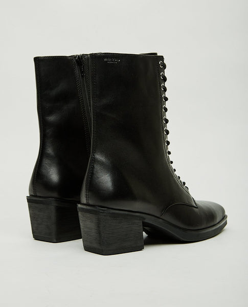 VAGABOND SIMONE LEATHER LACE UP BOOT