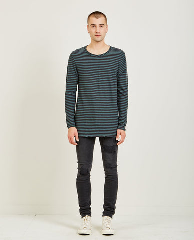 SATURDAYS NYC JAMES PIMA LONG SLEEVE TEE