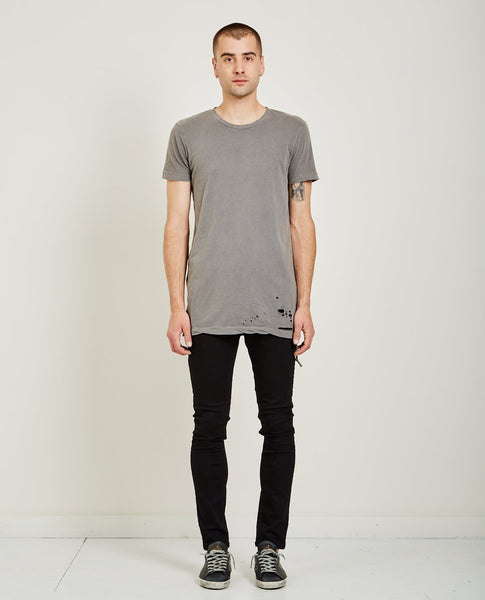 KSUBI Sioux Pocket Tee Vintage Grey