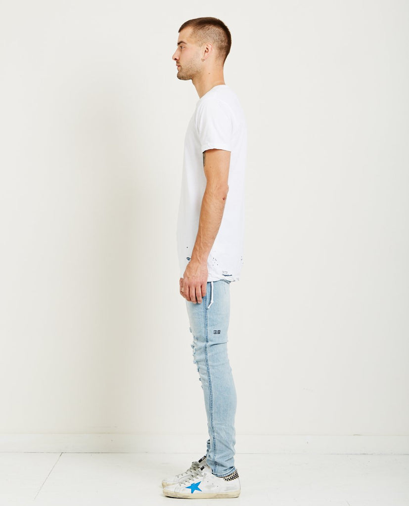 KSUBI-SIOUX TEE AGED WHITE-Men Tees + Tanks-{option1]