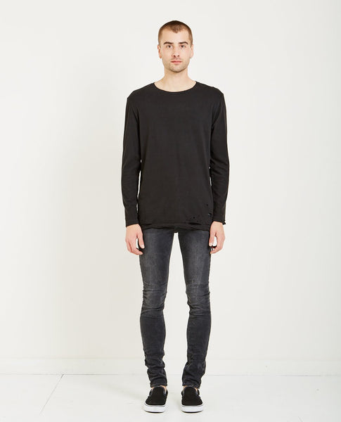 KSUBI SIOUX TEE WORN BLACK