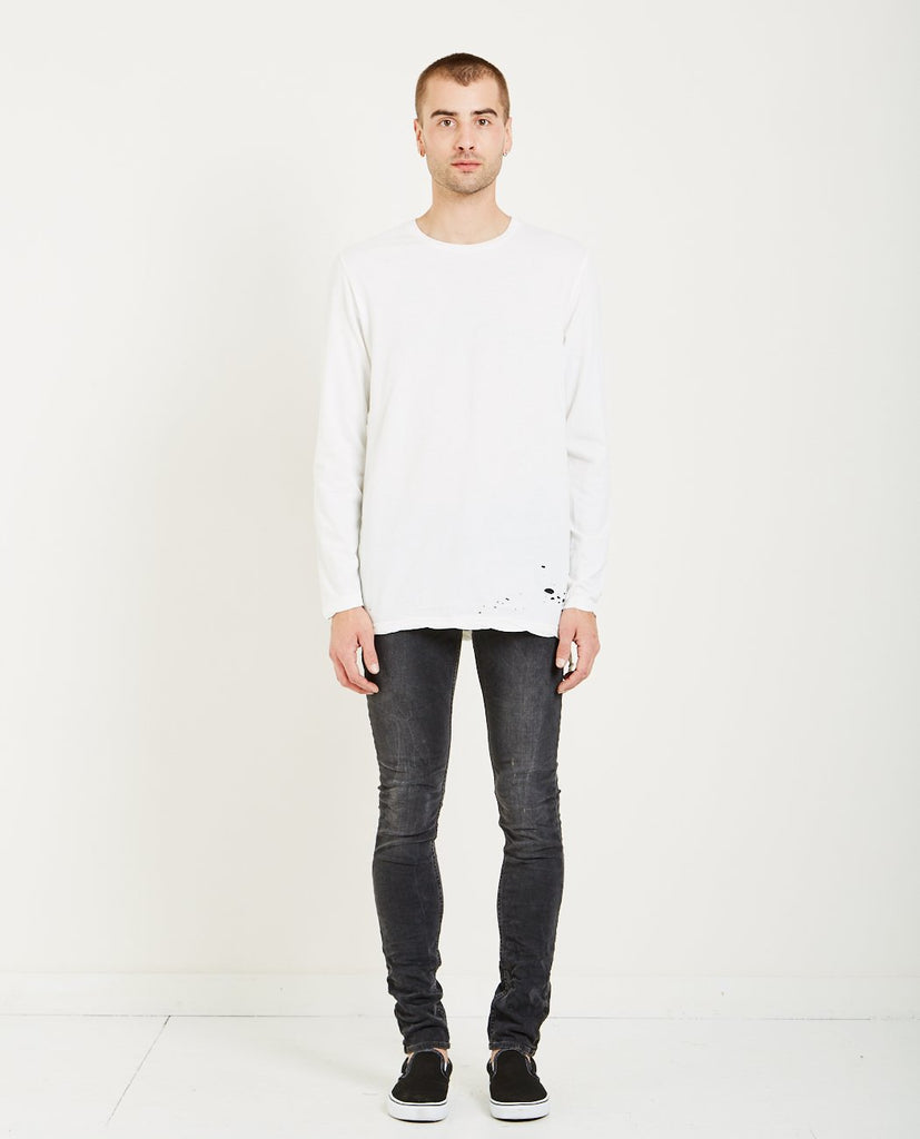 KSUBI SIOUX TEE WORN IN WHITE