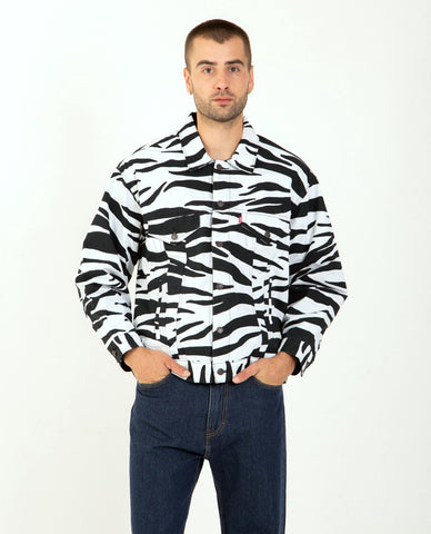 CLOSED Camouflage Sherpa Fleece Jacket