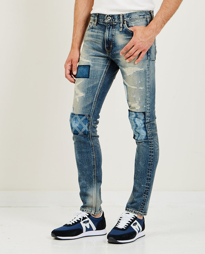 FDMTL-Skinny Fit CS66 Jean-Men Skinny-{option1]