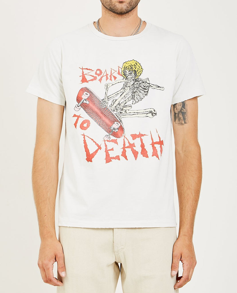 SKULL SKATER T-SHIRT-REMI RELIEF-American Rag Cie