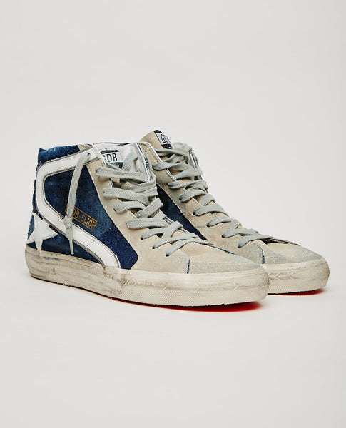 GOLDEN GOOSE SLIDE HI-TOP