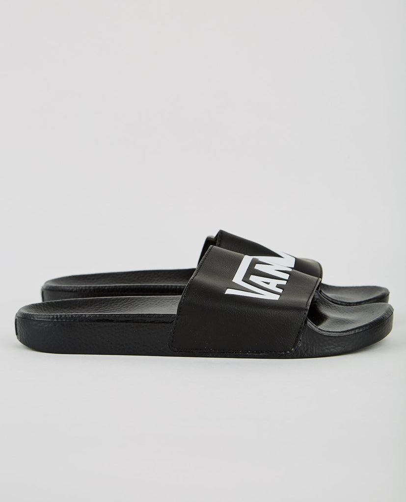 SLIDE-ON BLACK-VANS-American Rag Cie