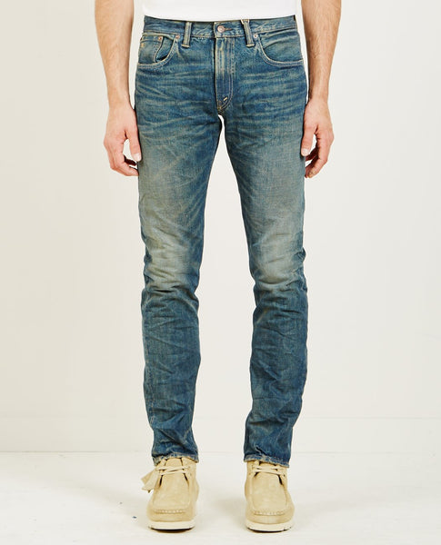 RRL SLIM FIT 5 POCKET DENIM CONRAD