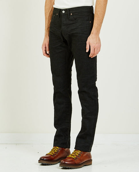 RRL SLIM FIT JEAN NEW BLACK ON BLACK