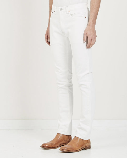 RRL SLIM FIT JEAN WHITESTONE